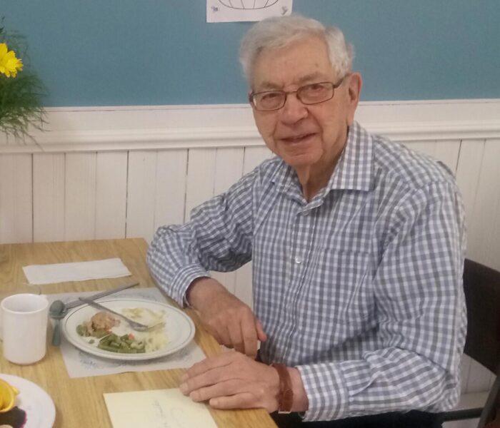 95 ans pour un résident du Manoir de chez nous