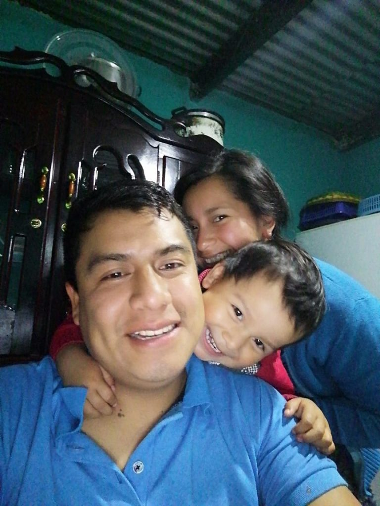 famille guatemala travailleur étranger de Compton