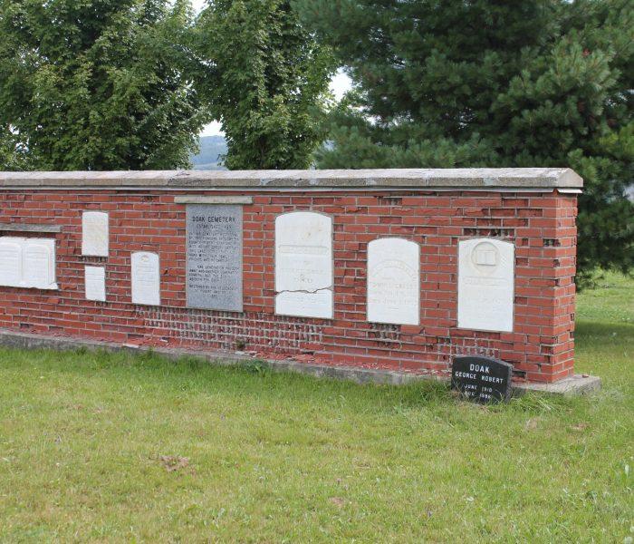 Série Cimetières : Le cimetière Doak
