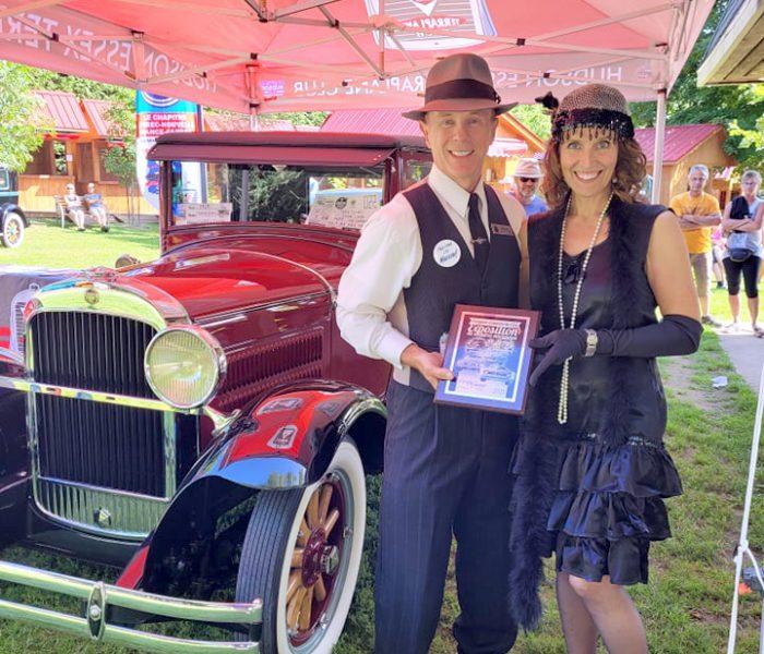 Coup de cœur pour la 15e édition de l'Exposition des voitures anciennes des Lions à Compton!